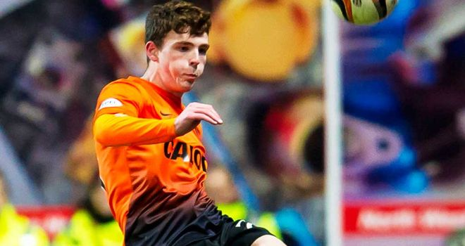 Andrew Robertson: Dundee United defender is in his first Scotland squad