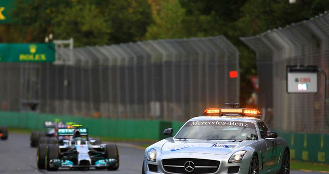 Shake-up: Standing starts look set to follow Safety Car periods next season