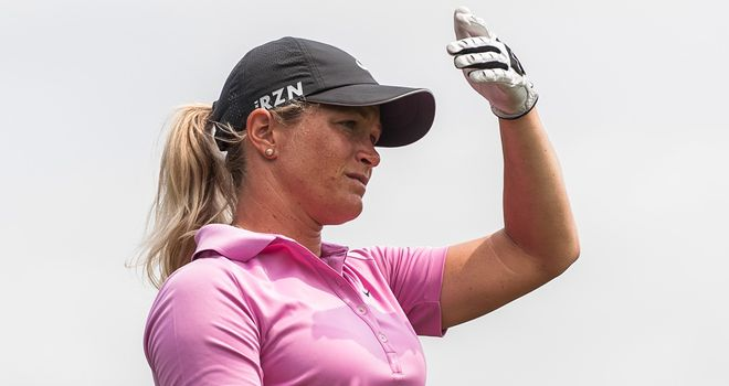 Suzann Pettersen: Five birdies and an eagle in opening 67