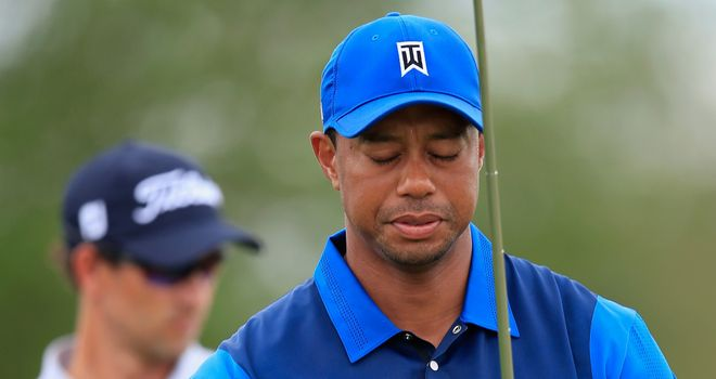 Tiger Woods: Out of sorts again