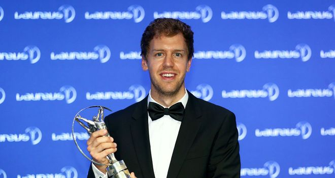Sebastian Vettel: Hailed as 2013's leading sportsman