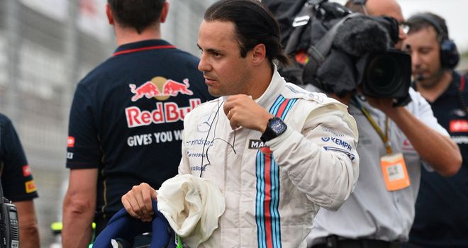 Felipe Massa: Mercedes too quick but Williams can compete with other teams