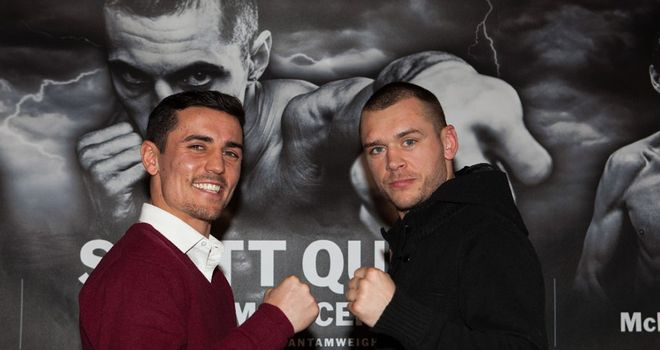 Anthony Crolla and John Murray: Manchester rivals set to lock horns on April 19