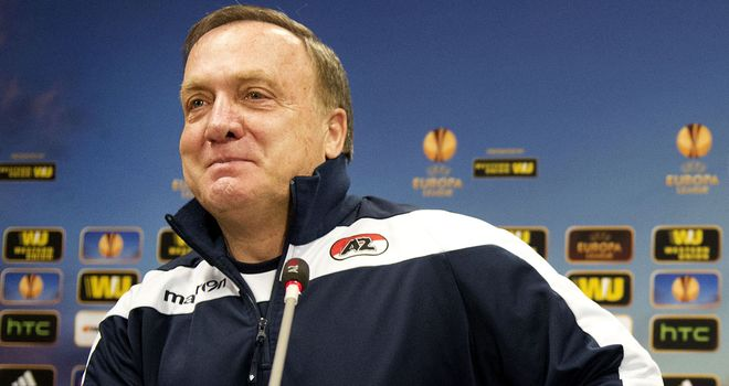 Dick Advocaat: AZ Alkmaar coach hoping his side can pull off a shock
