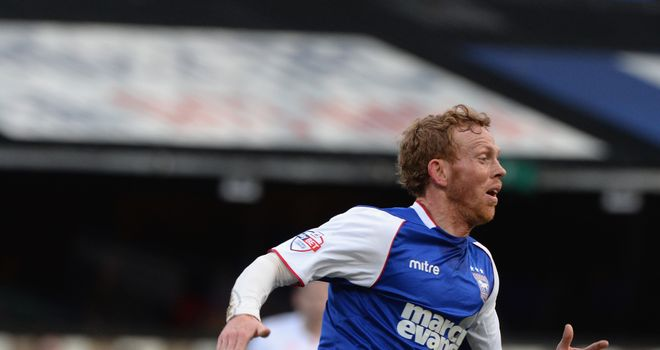 Paul Green: Headed in the winner at Portman Road
