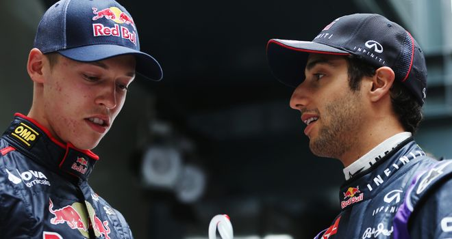 Daniil Kvat: Stepped impressively into his predecessor Ricciardo's shoes