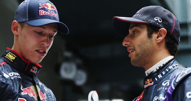 Daniil Kvat: Stepped impressively into his predecessor Ricciardo's shoes