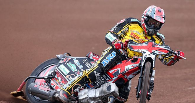 Chris Harris: Helped Coventry to Lakeside win (Picture credit Jeff Davies)