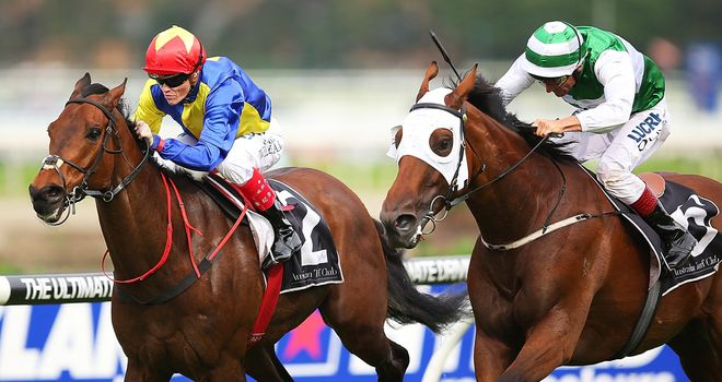 Gordon Lord Byron wins in Australia