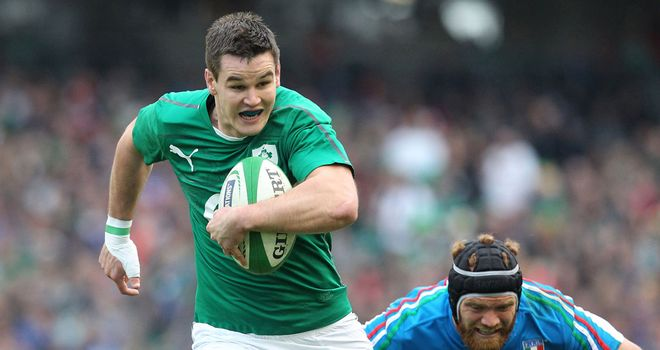 Jonathan Sexton: Has signed a new contract with the IRFU