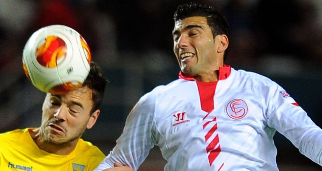 Jose Antonio Reyes: Hoping for another big win for Sevilla