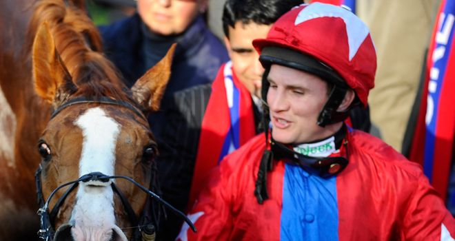Jamie Moore will be ambassador for London Racecourses for the 2014/15 National Hunt Season