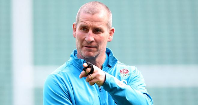 Stuart Lancaster: Believes momentum is with England
