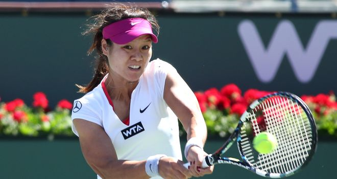 Li Na: Chinese right-hander is top seed at Indian Wells event