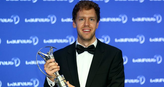 Sebastian Vettel: World Sportsman of the Year