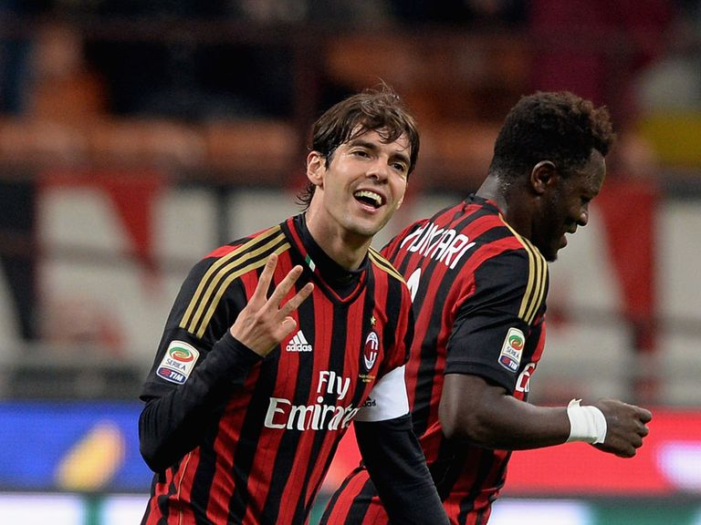 Kaka: Wants to stay at the San Siro