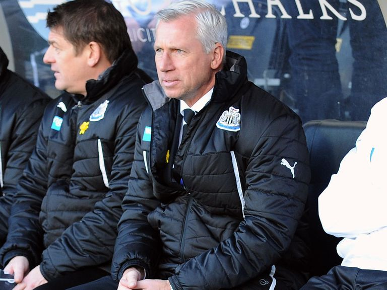 Alan Pardew: Demanding an improvement from his players