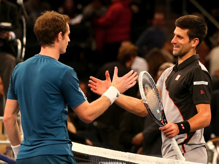 Andy Murray could meet Novak Djokovic in the last eight in Miami