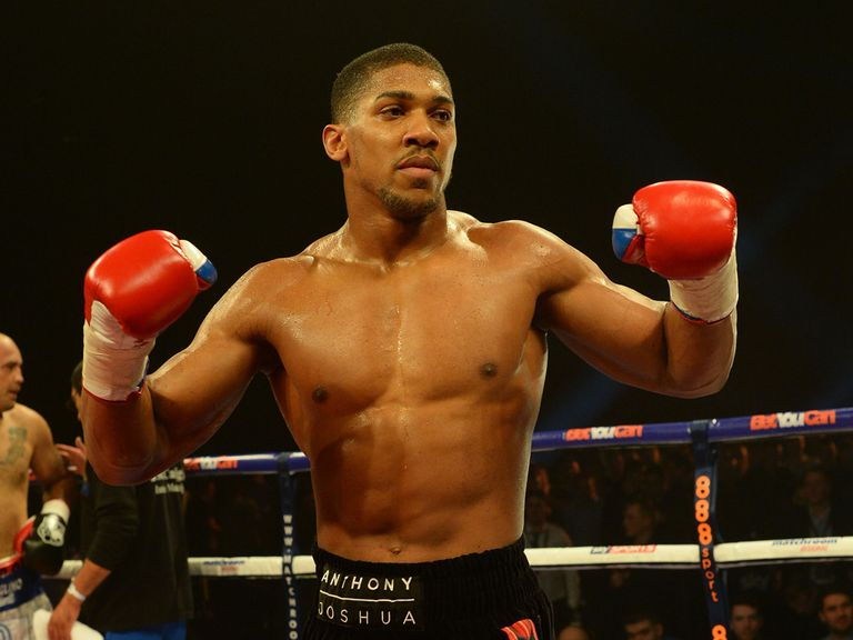 Anthony Joshua: Yet to be tested in his pro career