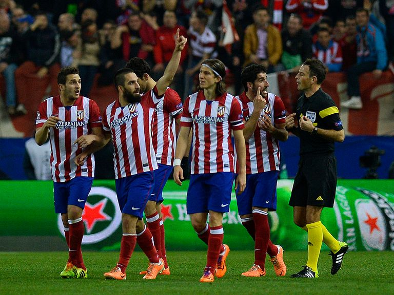 Atletico Madrid: Destroyed AC Milan in the last 16