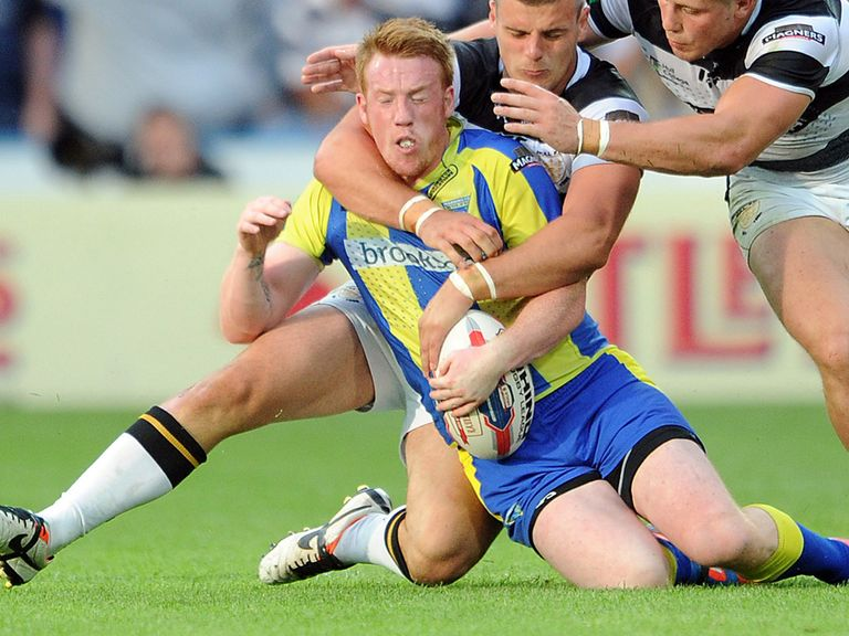 Chris Riley: Has joined Wakefield on a month's loan