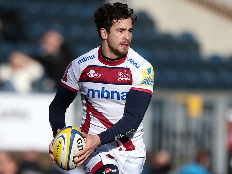Danny Cipriani: Would be happy to extend his Sale Sharks deal