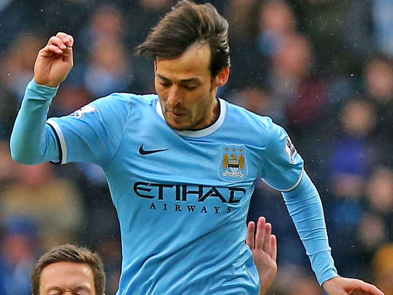 David Silva: Fit to face Arsenal on Saturday evening