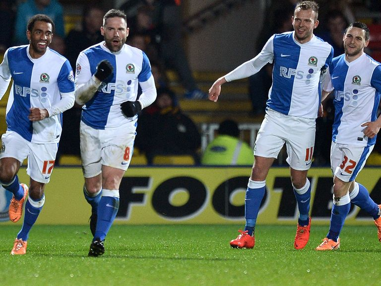 Blackburn are on a good run of form