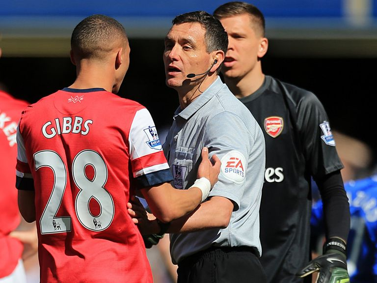 Andre Marriner: Has been handed the FA Cup semi-final