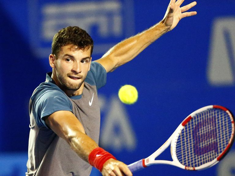 Dimitrov: Battled past Andy Murray in just under three hours