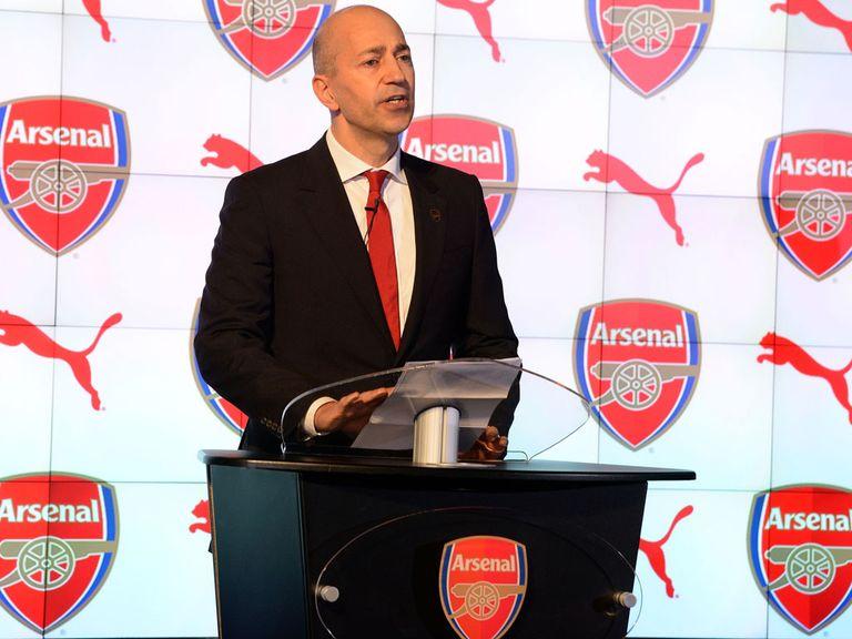 Ivan Gazidis: Says Arsene Wenger is not scared to spend