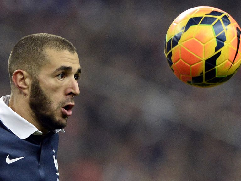 Benzema: On target again for France against Holland