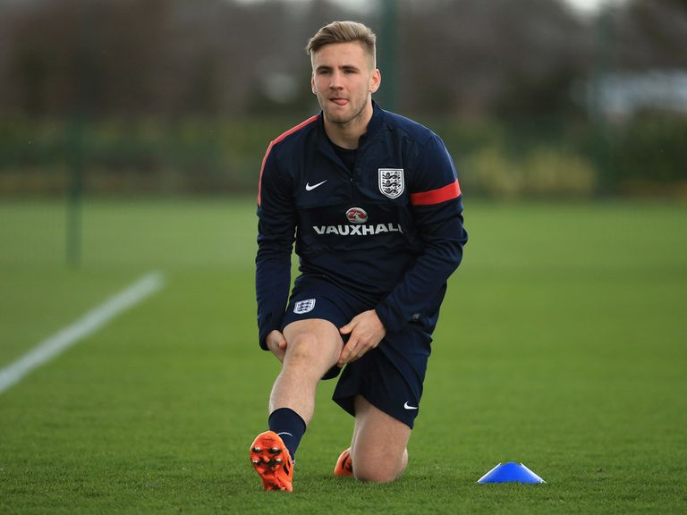 Luke Shaw: Excited by England opportunities