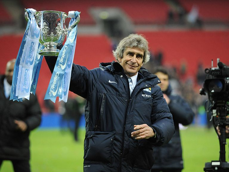 Manuel Pellegrini: First leg of domestic Treble in the bag