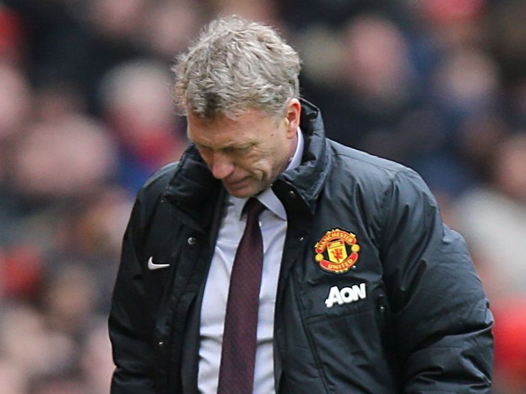 David Moyes: Was sacked by Manchester United on Tuesday