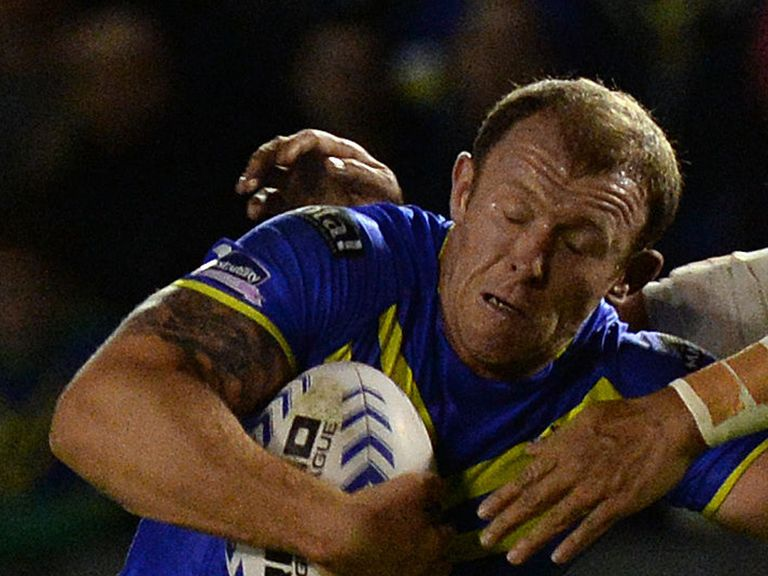 Micky Higham: Back in the Warrington squad