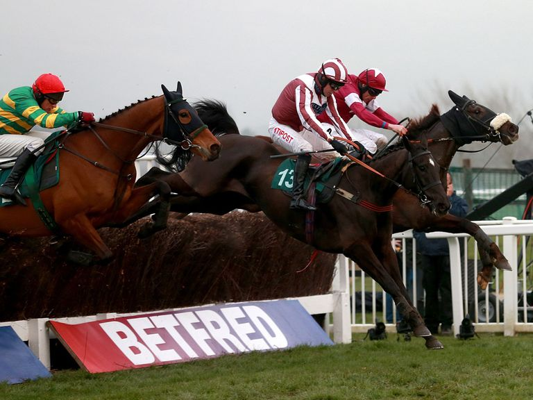 Ned Buntline (left): Value at 5/1 for big Punchestown handicap chase