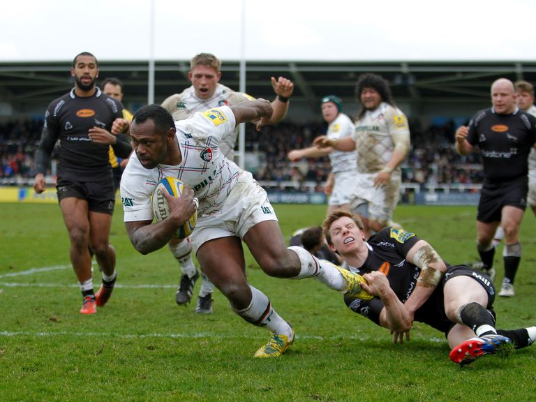 Niki Goneva scored two tries for Leicester