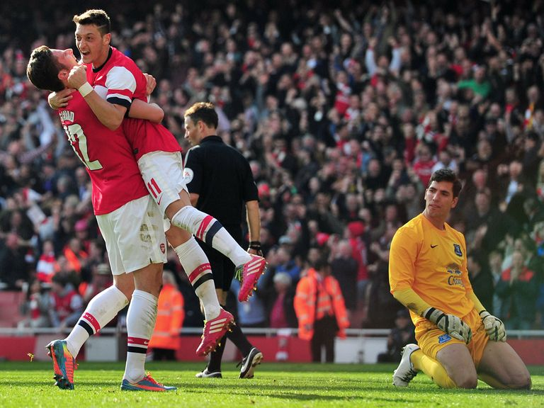 Arsenal are now favourites to win the FA Cup