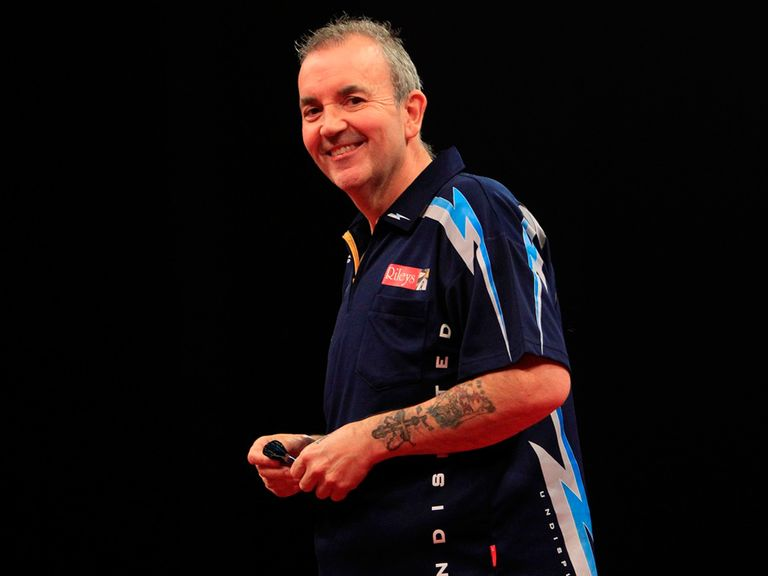 Phil Taylor: Earned three points in Birmingham