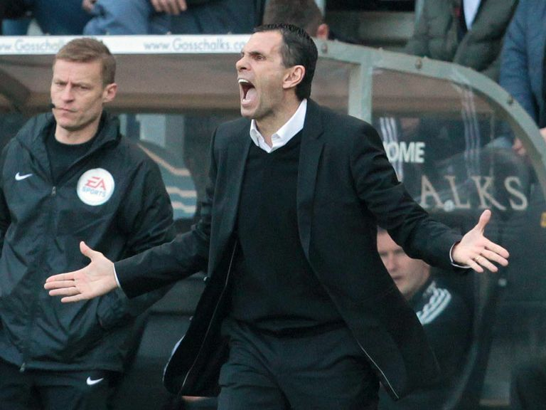 Gus Poyet: Knows the relegation battle will be close