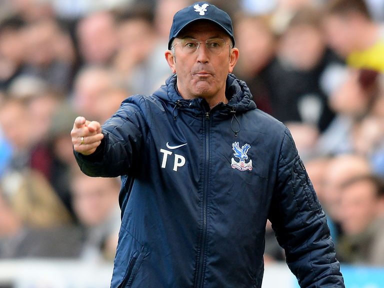 Tony Pulis: Hoping hard work pays off against Chelsea