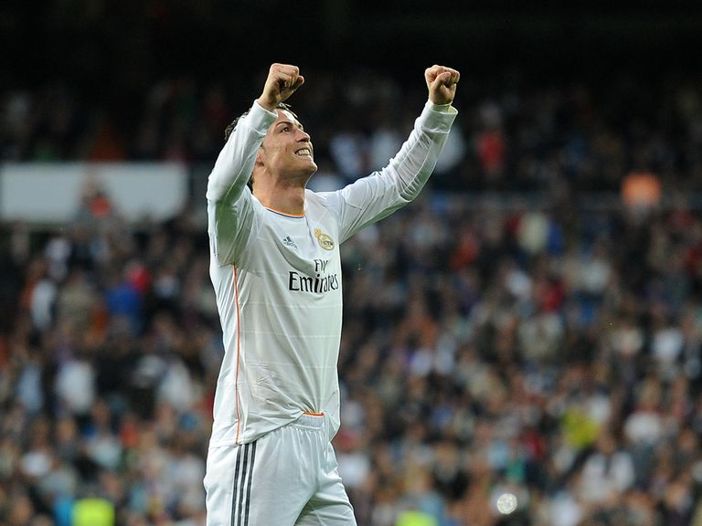 Cristiano Ronaldo opened the scoring for Real Madrid on Sunday