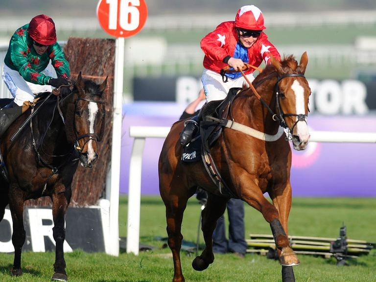 Somersby chases Sire De Grugy home at Cheltenham