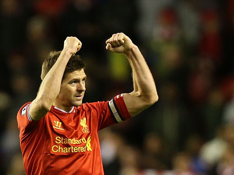 Gerrard: Vital goal against Sunderland in midweek