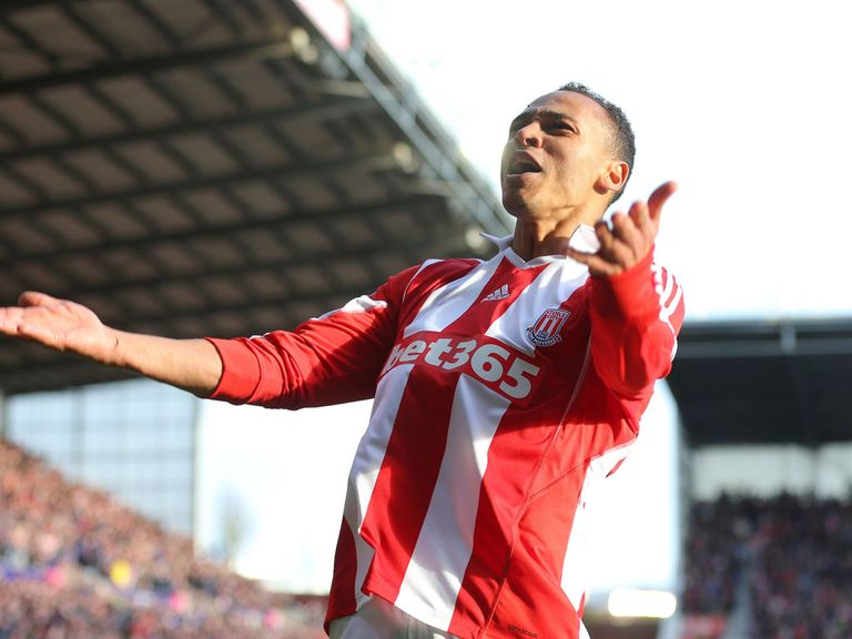 Peter Odemwingie: Enjoying his football again at Stoke