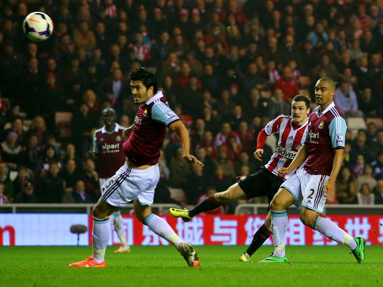 Adam Johnson: Scored in Sunderland's defeat