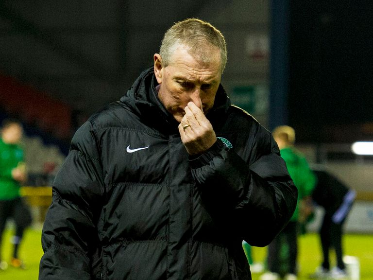 Terry Butcher: Leaves Hibernian