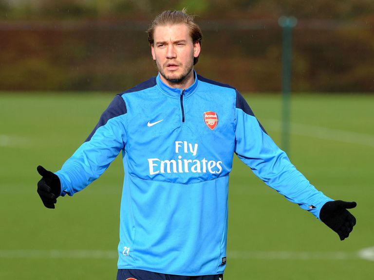 Nicklas Bendtner: Released by Arsenal