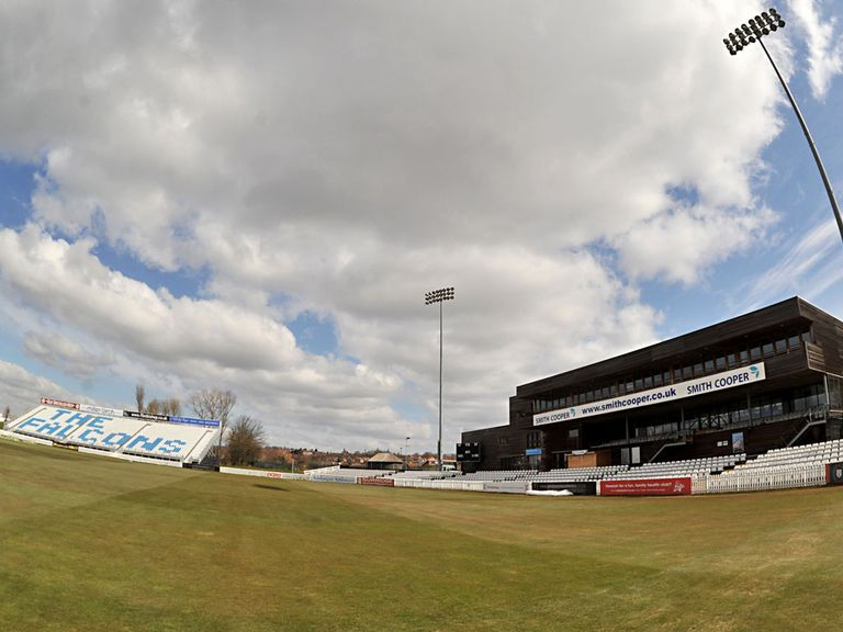 Derbyshire have renamed their home ground